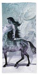 Centaur Cool Tones Beach Towel by Quim Abella