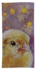 Chick Beach Towel by Michael Creese