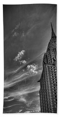 Chrysler Building Nyc Beach Towel by Martin Newman