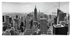 Classic New York  Beach Sheet by Az Jackson