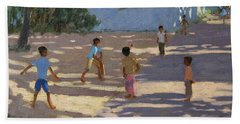 Cochin Beach Sheet by Andrew Macara