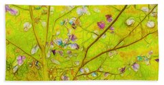 Dancing In The Wind 01 - 343 Beach Towel by Variance Collections