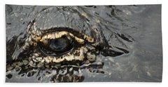 Dangerous Stalker Beach Towel by Carolyn Marshall