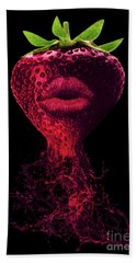 Dark Flavor Beach Towel by Prar Kulasekara