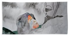 Dean Deleo - Stone Temple Pilots - Music Inspiration Series Beach Sheet by Carol Crisafi