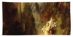 Dejanira  Autumn Beach Towel by Gustave Moreau