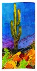 Desert Giant Beach Sheet by Elise Palmigiani
