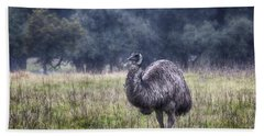 Early Morning Stroll Beach Towel by Douglas Barnard