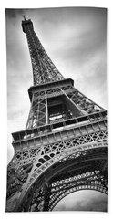 Eiffel Tower Dynamic Beach Towel by Melanie Viola