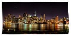 Electric City Beach Towel by Az Jackson
