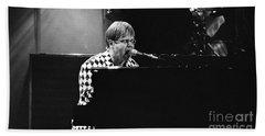 Elton John-0147 Beach Towel by Gary Gingrich Galleries