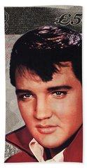 Elvis Presley Beach Sheet by Unknown