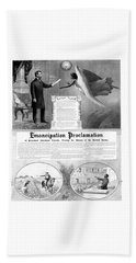 Emancipation Proclamation Beach Sheet by War Is Hell Store