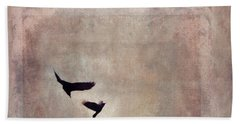 Fly Dance Beach Sheet by Priska Wettstein