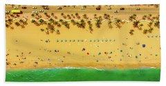 Fort Lauderdale Florida Beach Sheet by Lance Asper