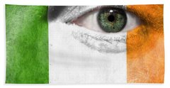 Go Ireland Beach Sheet by Semmick Photo
