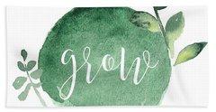 Grow Beach Towel by Nancy Ingersoll