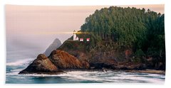 Haceta Head Light Beach Towel by Todd Klassy
