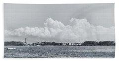 Hart Island, Nyc  Beach Towel by Sandy Taylor