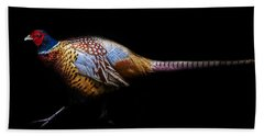 Have A Pheasant Day.. Beach Towel by Martin Newman