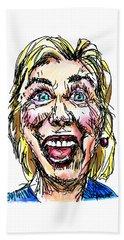 Hillary Beach Towel by Robert Yaeger