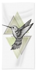 Hummingbird Beach Sheet by Barlena