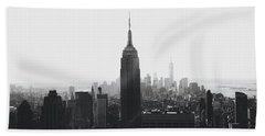 I'll Take Manhattan  Beach Towel by J Montrice