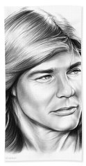 Jan Michael Vincent Beach Sheet by Greg Joens