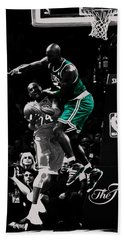 Kevin Garnett Not In Here Beach Sheet by Brian Reaves