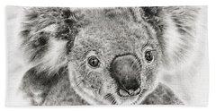 Koala Newport Bridge Gloria Beach Sheet by Remrov