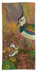 Lapwing Revival Beach Towel by Lotti Brown
