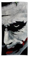 Ledger's Joker Beach Towel by Dale Loos Jr