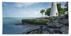 Marblehead Breeze Beach Towel by James Dean