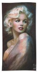 Marilyn Ww  Beach Sheet by Theo Danella
