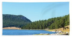 Meadowlark Lake View Beach Sheet by Jess Kraft