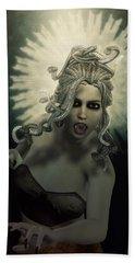 Medusa Beach Towel by Joaquin Abella