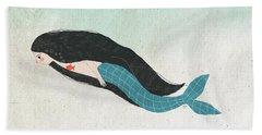 Mermaid Beach Sheet by Carolina Parada