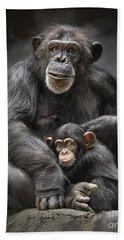 Mom And Baby Beach Sheet by Jamie Pham