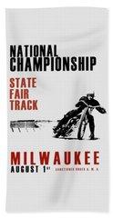 National Championship Milwaukee Beach Sheet by Mark Rogan
