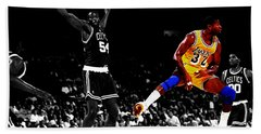 No Look Pass 32a Beach Towel by Brian Reaves