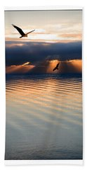 Ospreys Beach Towel by Mal Bray