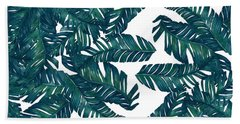 Palm Tree 7 Beach Towel by Mark Ashkenazi