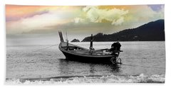 Patong Beach Beach Towel by Mark Ashkenazi