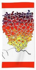 Pele Dreams Beach Towel by Diane Thornton