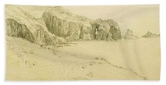Pele Point, Land's End Beach Towel by Samuel Palmer