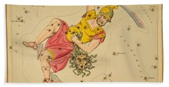 Perseus And Caput Medusae Beach Sheet by Science Source