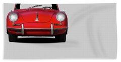 Porsche 356 Beach Towel by Mark Rogan