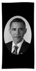 President Barack Obama Beach Towel by War Is Hell Store
