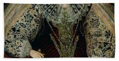 Queen Elizabeth I Beach Sheet by John the Younger Bettes