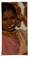 Beach Sheet featuring the photograph Rajasthan by Travel Pics